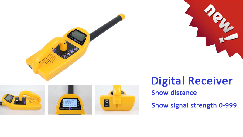 Digital pipe receiver